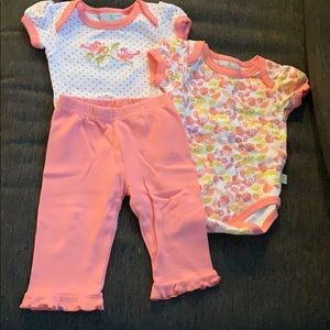 Other - Cute baby girl 🐥 4 pc set